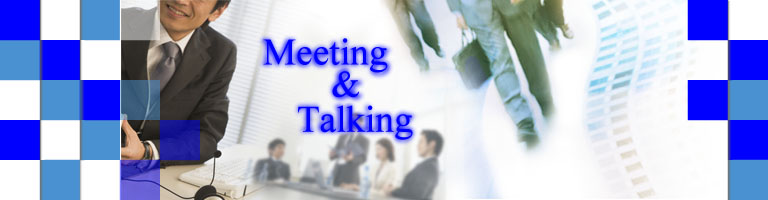 Meeting&talking
